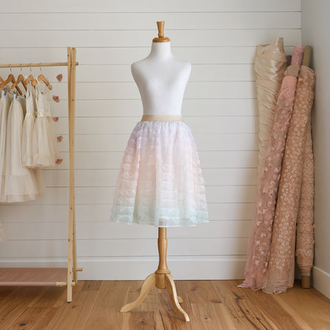 Midi Tulle Skirt (Women) - Rainbow Magic (Size M Only)