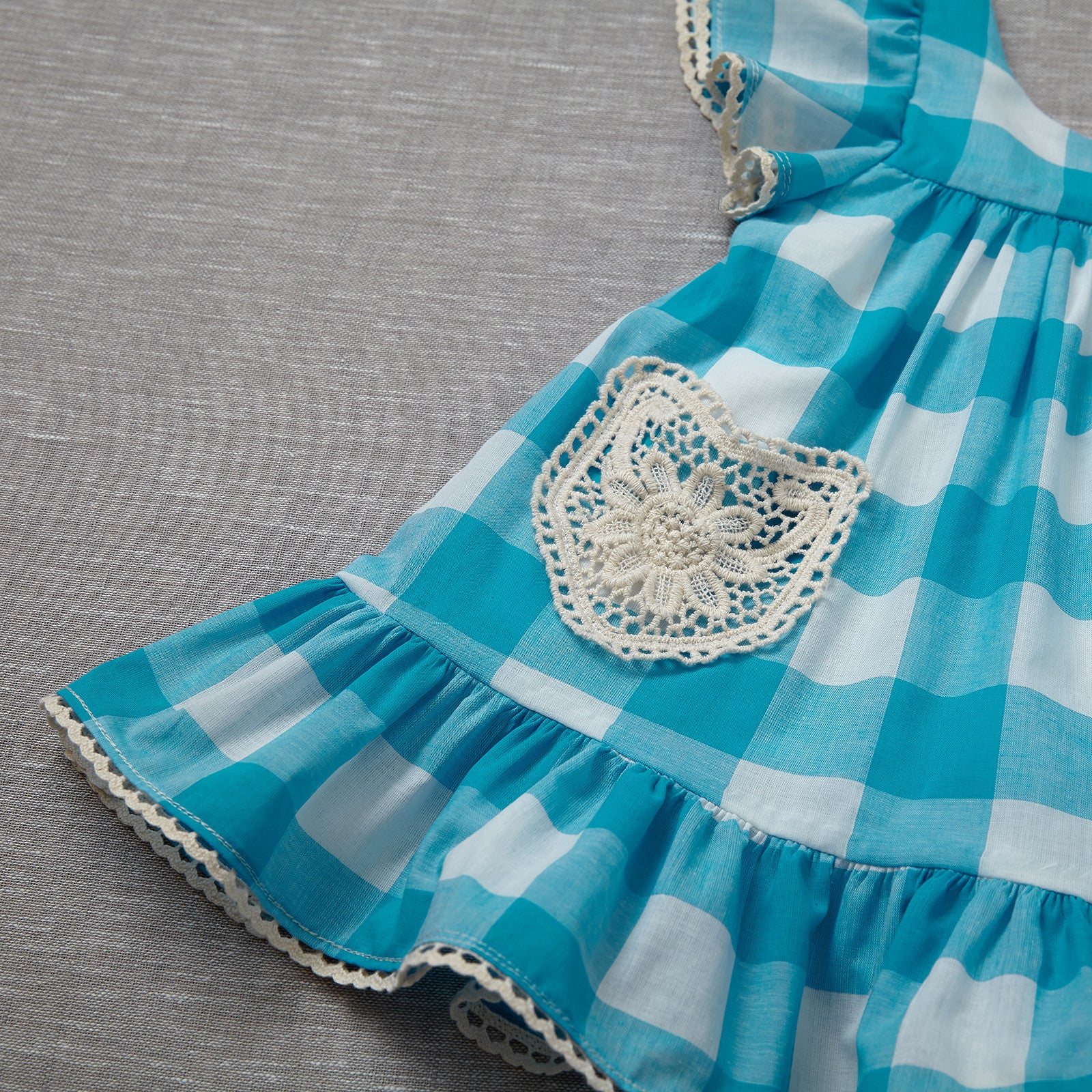 Lil' House on the Prairie Dress - Dorothy Blue