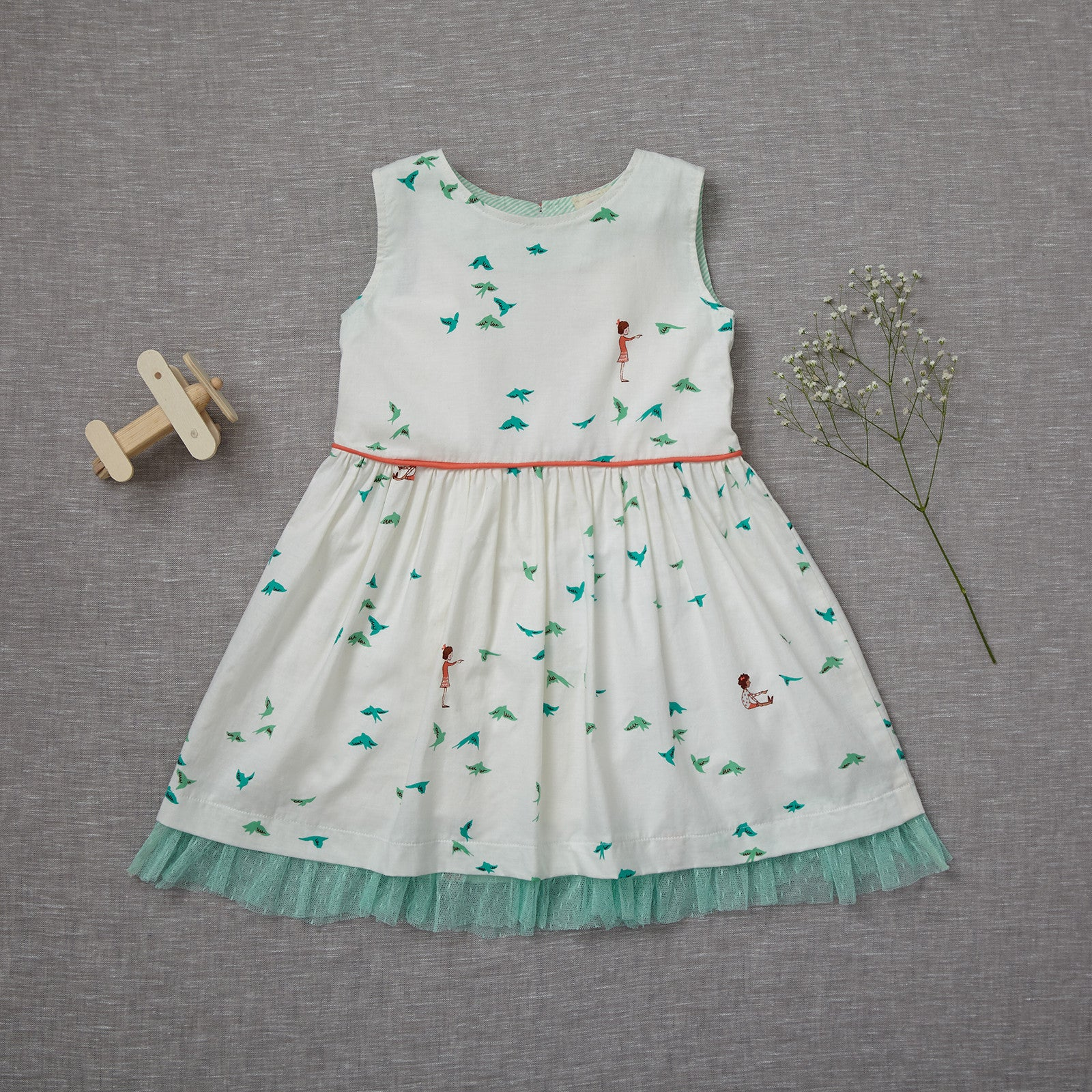 Curtsy Dress - Flockingbirds (RARE EDITION) (Size 4T Only)