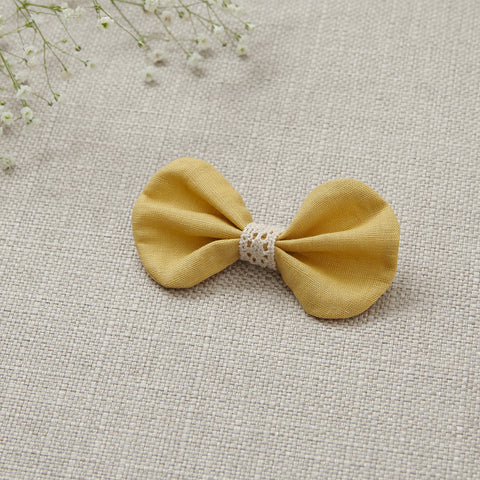 Hair Bow - Buttercup