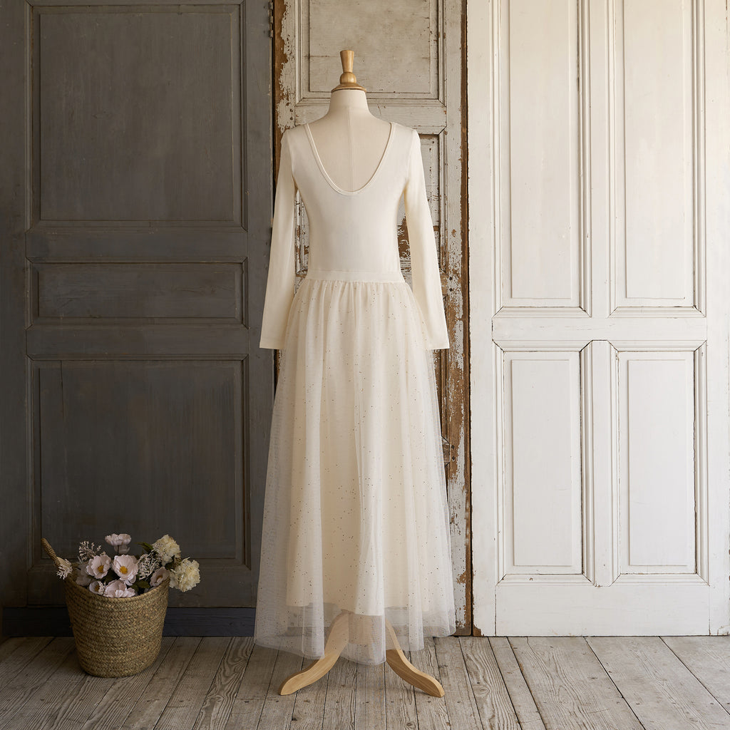 Ballerina Dress (Women) - Powder