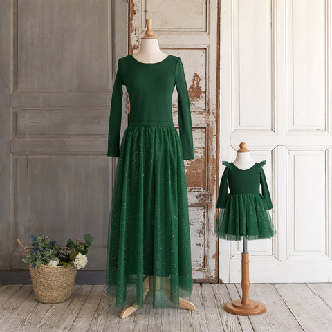Ballerina Dress (Women) - Spruce