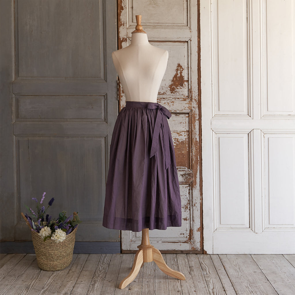 Crispy Cotton Skirt (Women) - Amethyst