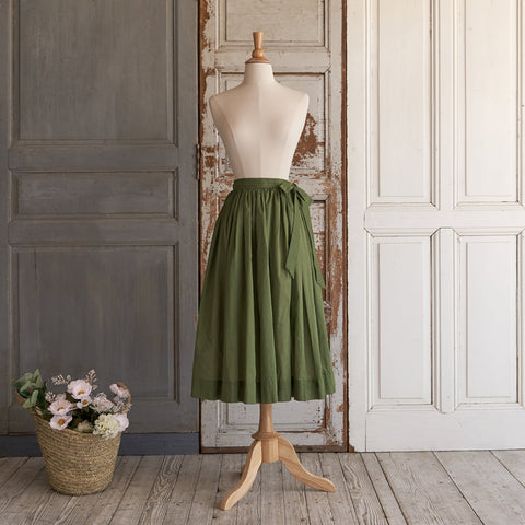 Crispy Cotton Skirt (Women) - Mistletoe