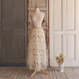 Starlet Maxi Skirt (Women) - Milky Way