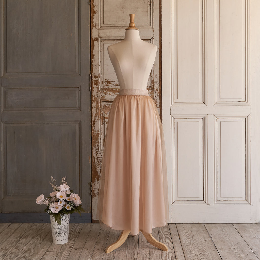 First Dance Skirt (Women) - Peaches N' Cream