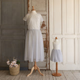 Tutu Cute Dress (Women) - Sterling