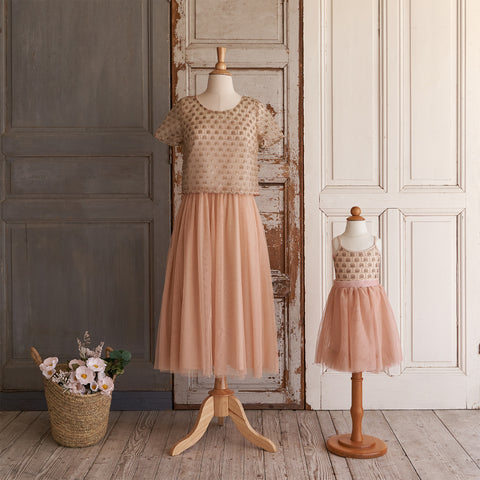 Tutu Cute Dress (Women) - Rosé