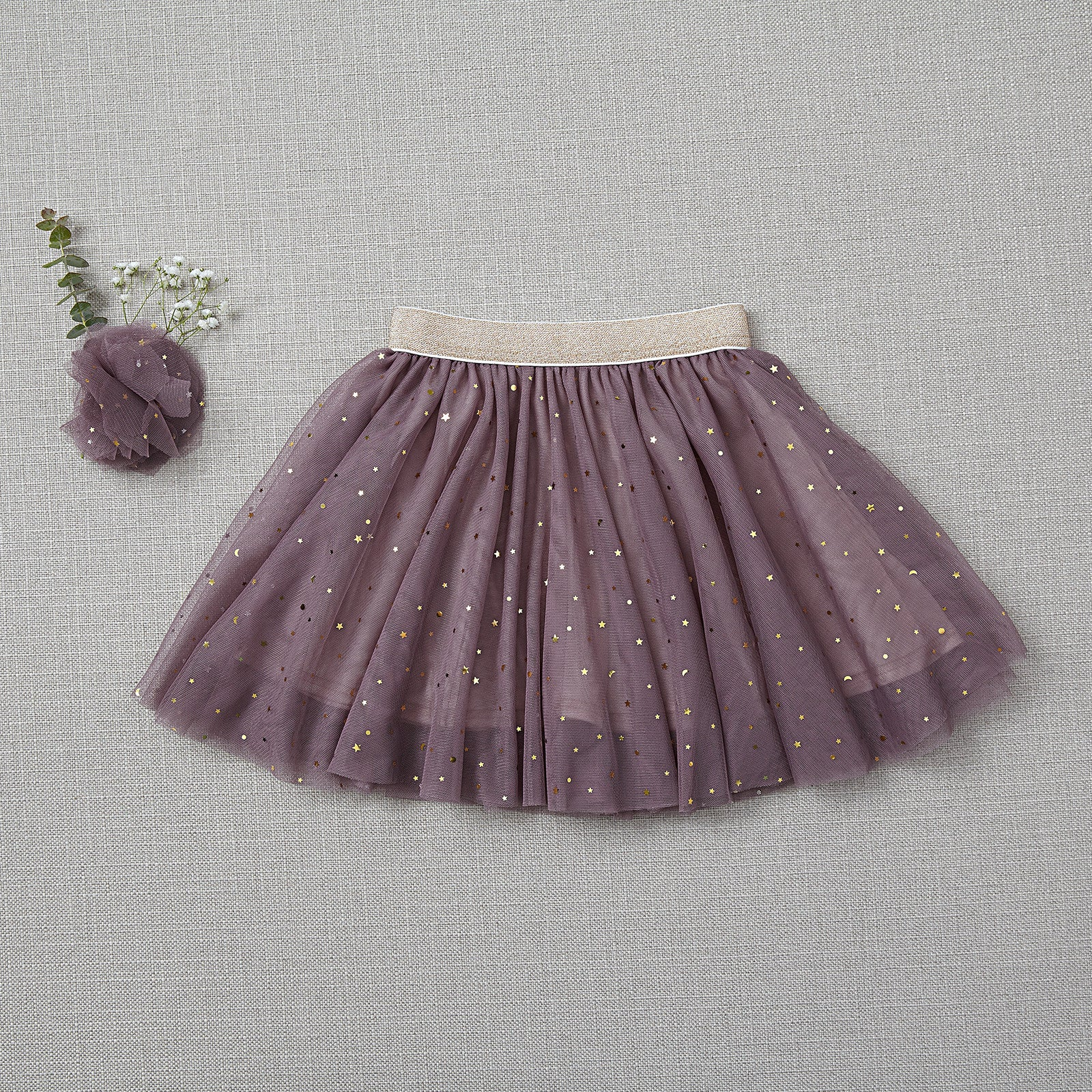 Twirly Tulle Skirt - Amethyst (FINAL SALE - Size 6/9m Only)