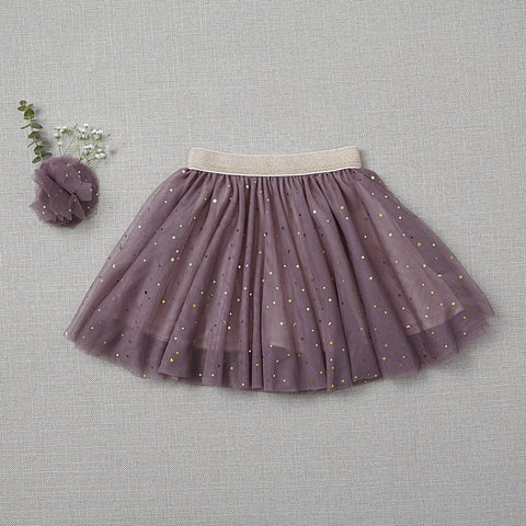 Twirly Tulle Skirt - Amethyst