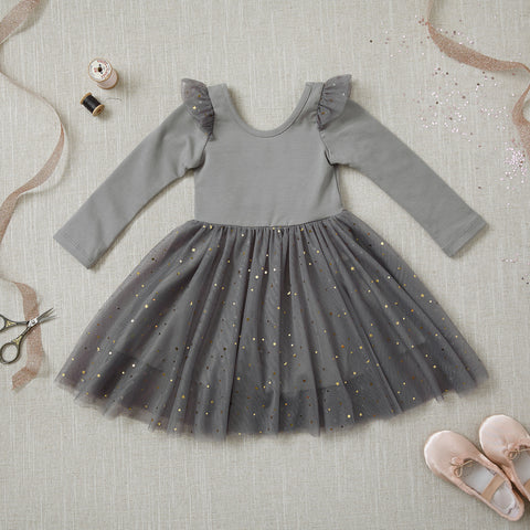 Ballerina Dress - Fog
