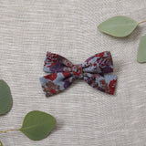 Criss-Cross Bow - Vintage Floral