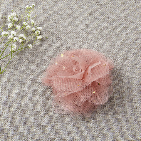 Flower Clip - Ballet Slipper Pink
