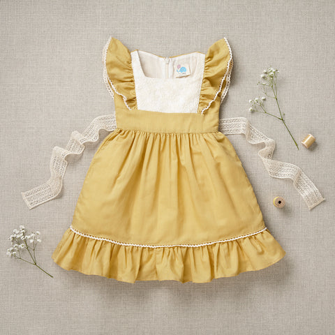 Flutter Dress - Buttercup Linen