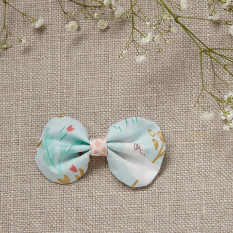 Hair Bow - Unicorn in Mint