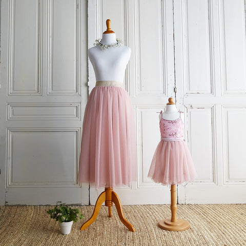 Twirly Tulle Skirt (Women) - Icy Pink