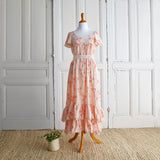 Prairie Dress (Women) - Peach Blossoms