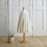 Embroidered Dress - Natural