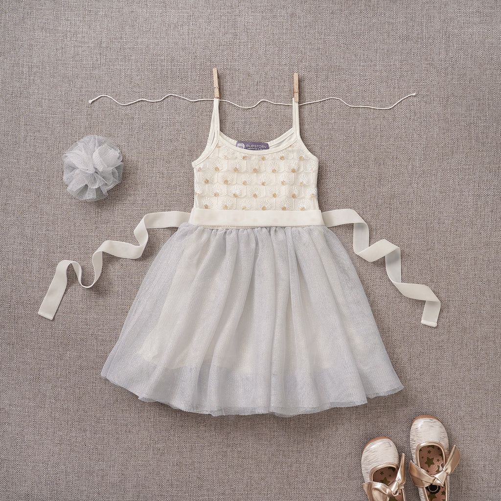 Tutu Cute Dress - Sterling (FINAL SALE)
