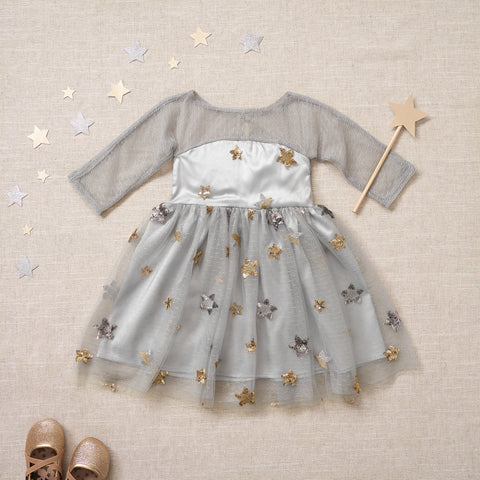 Starlet Dress - Nebula Gray