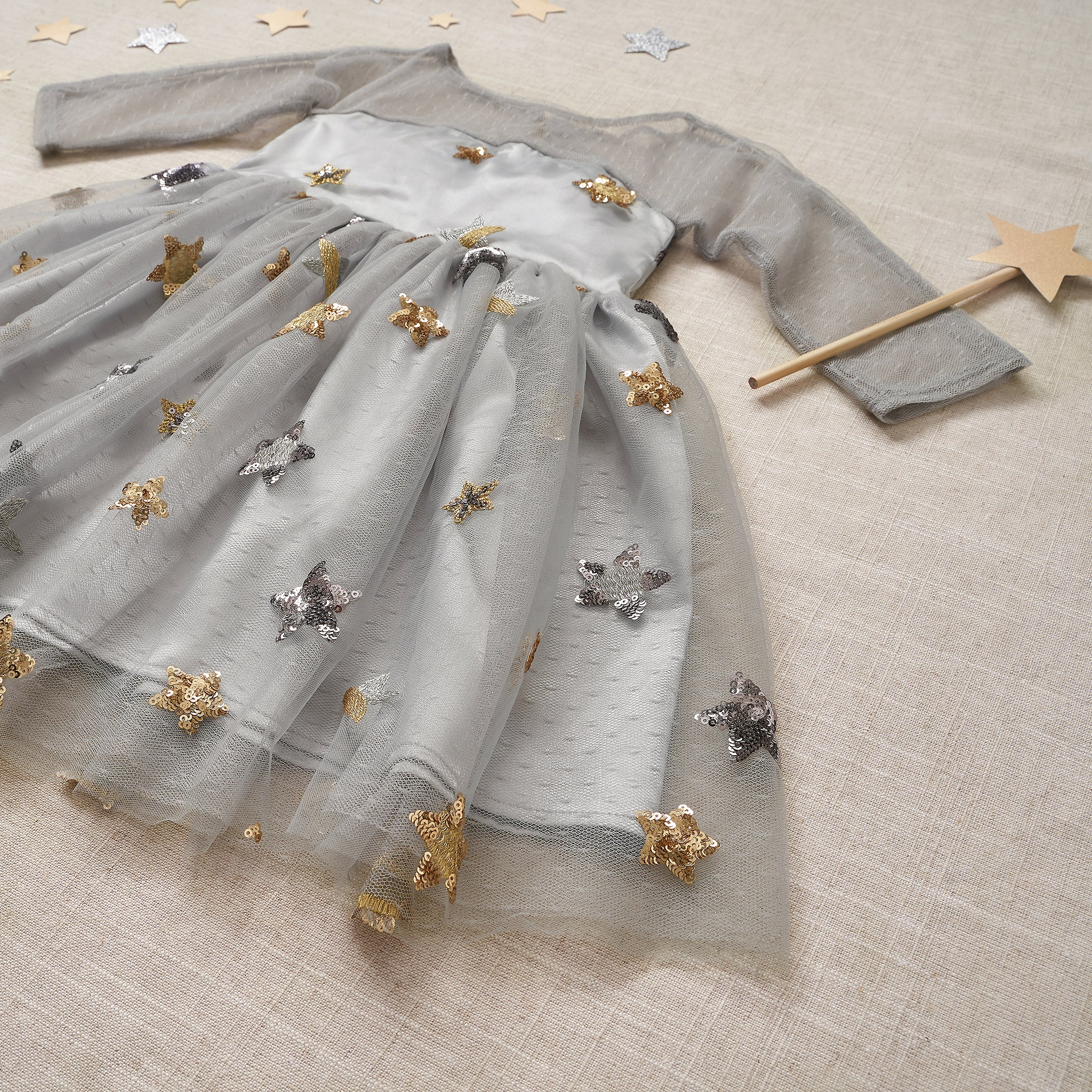 Starlet Dress - Nebula Gray (FINAL SALE)
