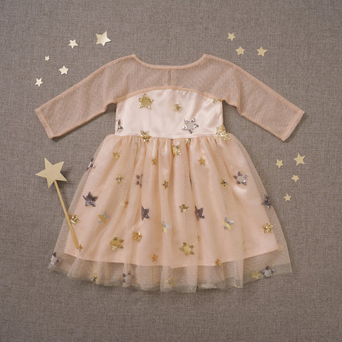 Starlet Dress - Stardust Pink