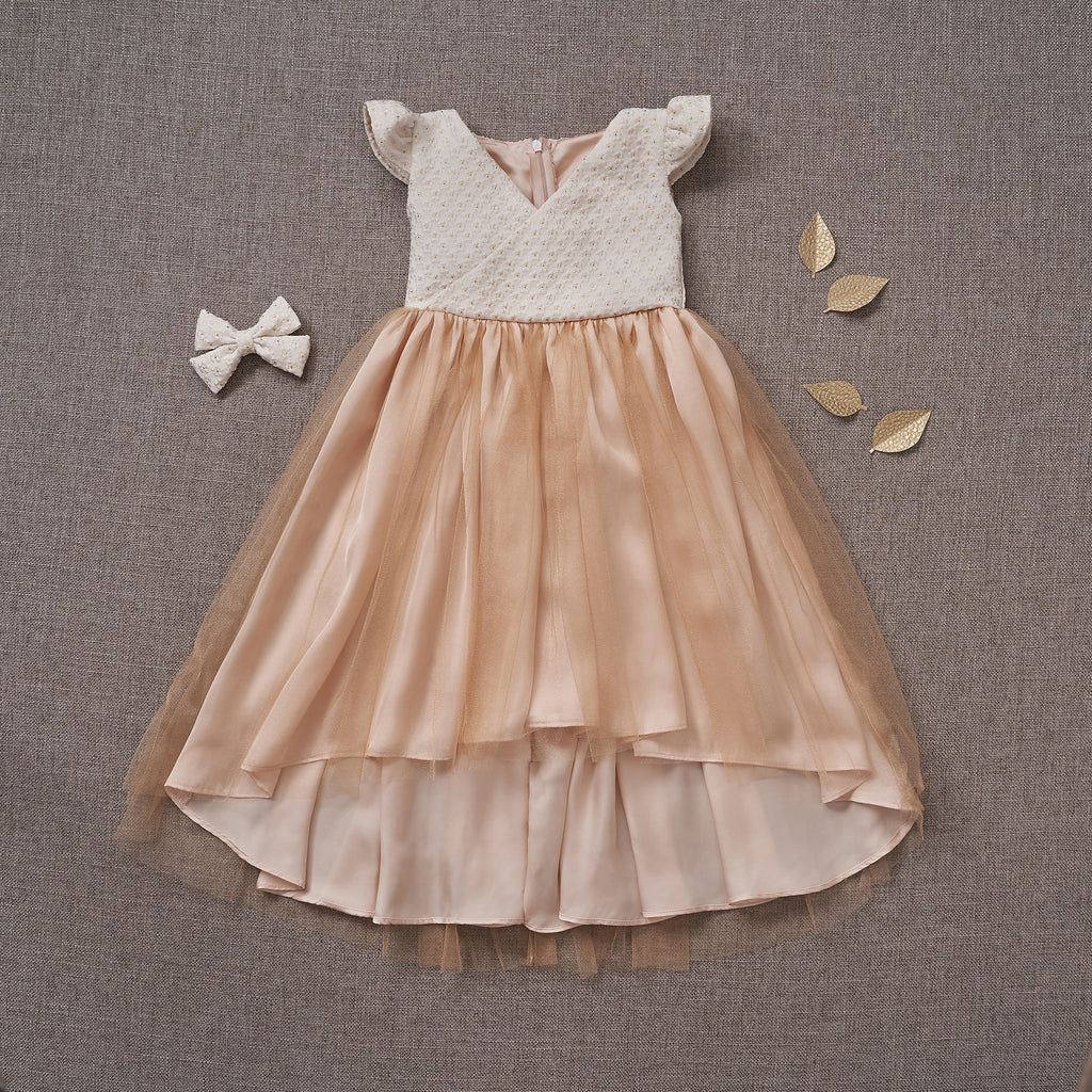 First Dance Dress - Peaches n' Cream