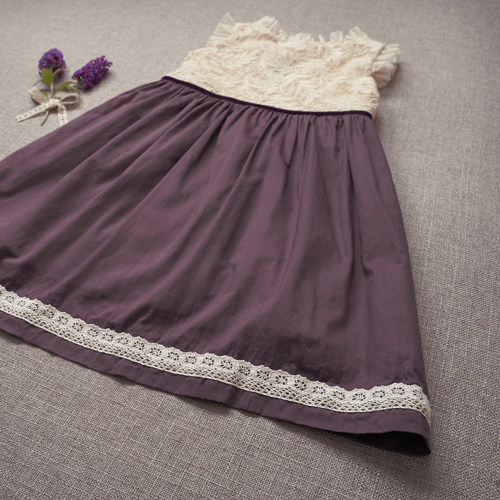 Holly Dress - Amethyst