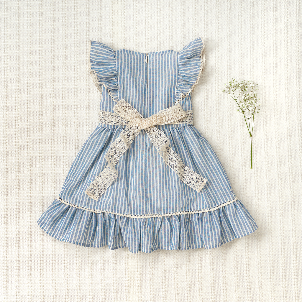 Flutter Dress - Striped (Limited Edition)