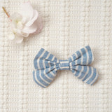 Criss Cross Bow - Striped (FINAL SALE)