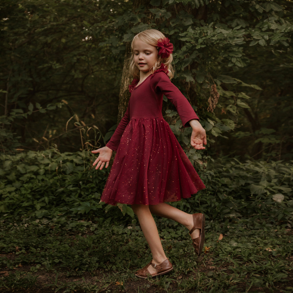 Ballerina Dress - Winterberry (FINAL SALE)