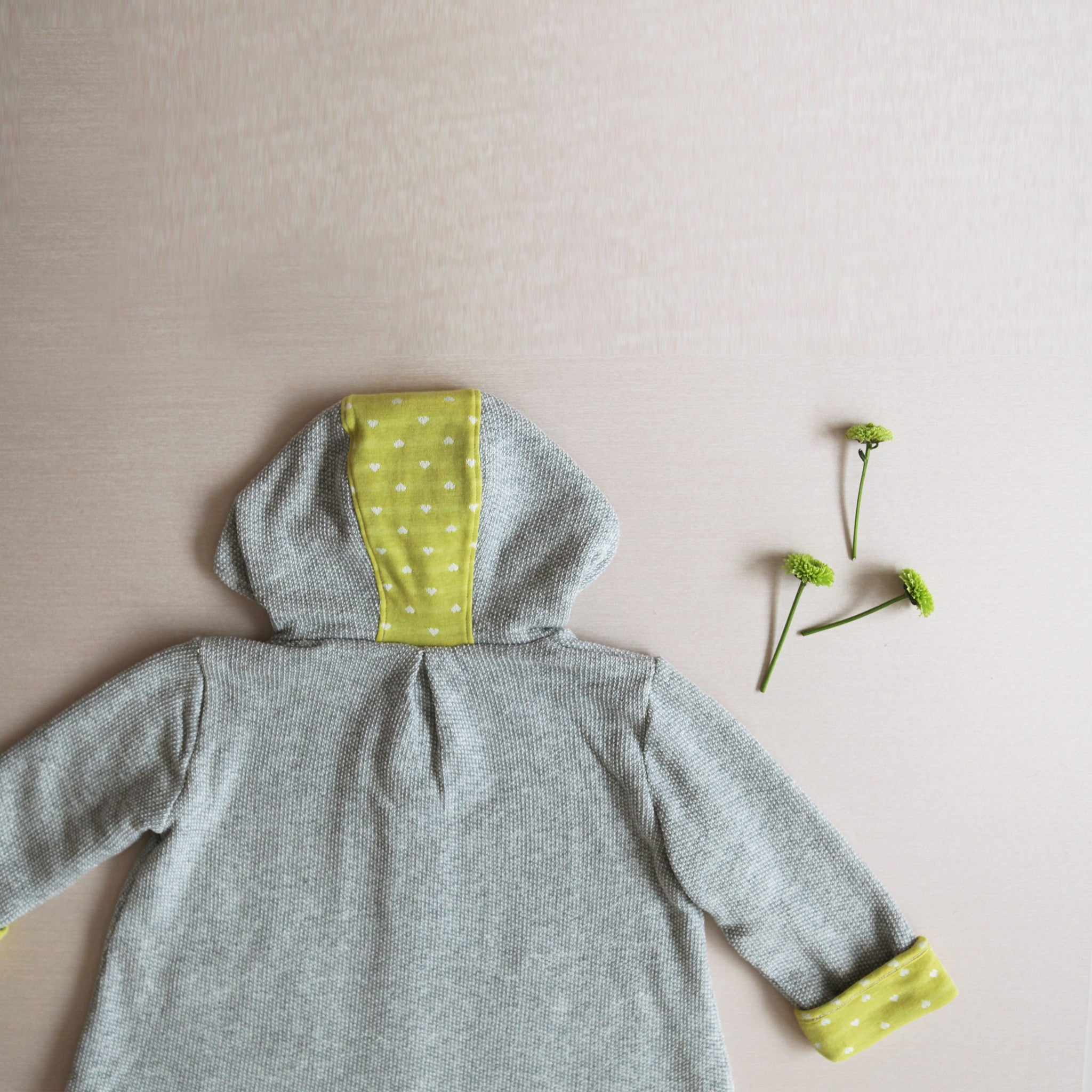 Favorite Soft Hoodie - Citron Hearts