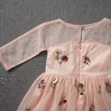 Holiday Cheer Dress - Pink Grapefruit (FINAL SALE - Size 10/12 Only)