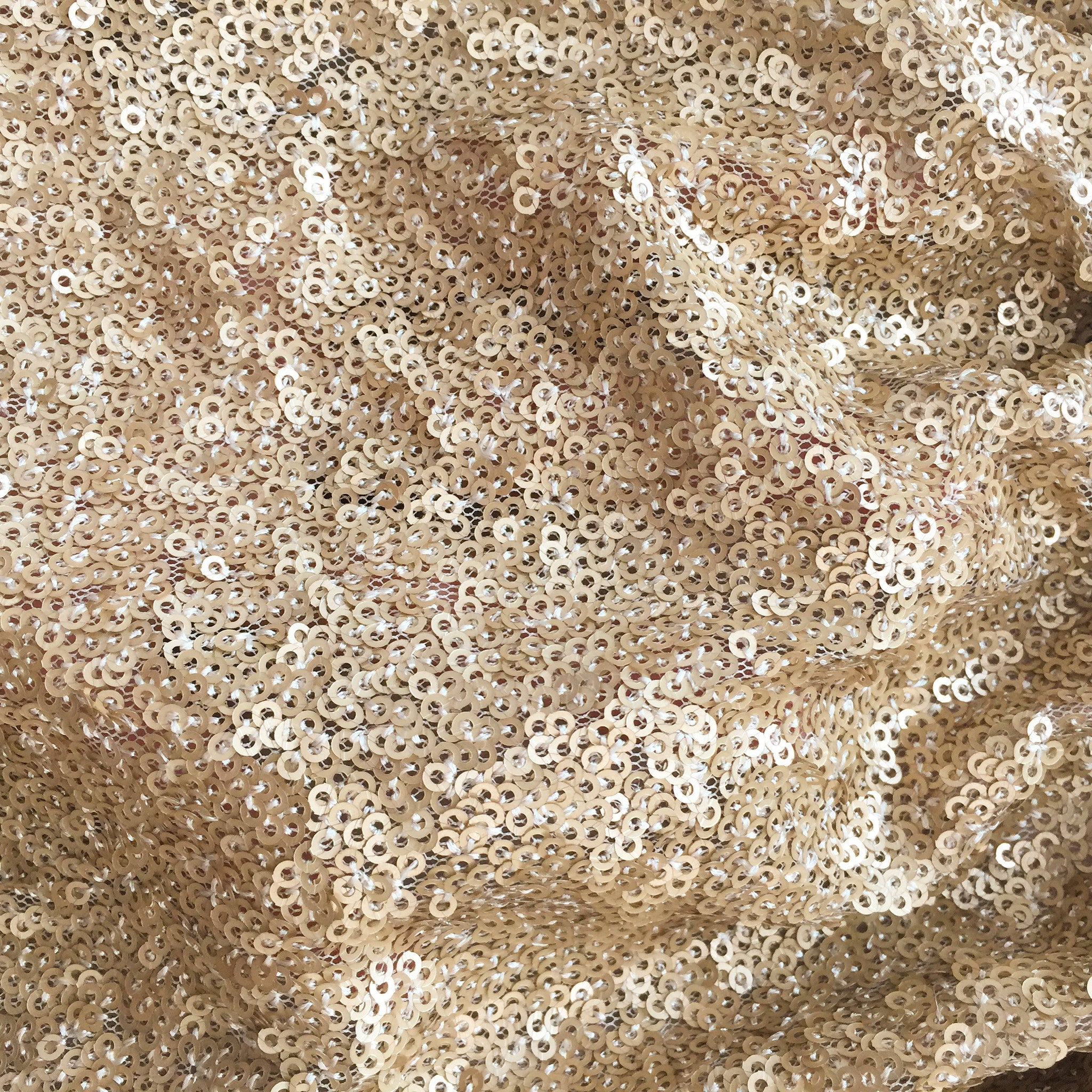 Z_fairy dust sequined Skirt - Glittery Gold (6/12m) - SOLD OUT