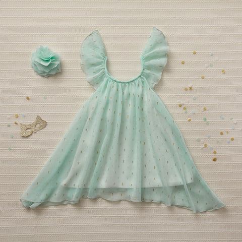 Little Gems Dress - Jade (Final Sale)