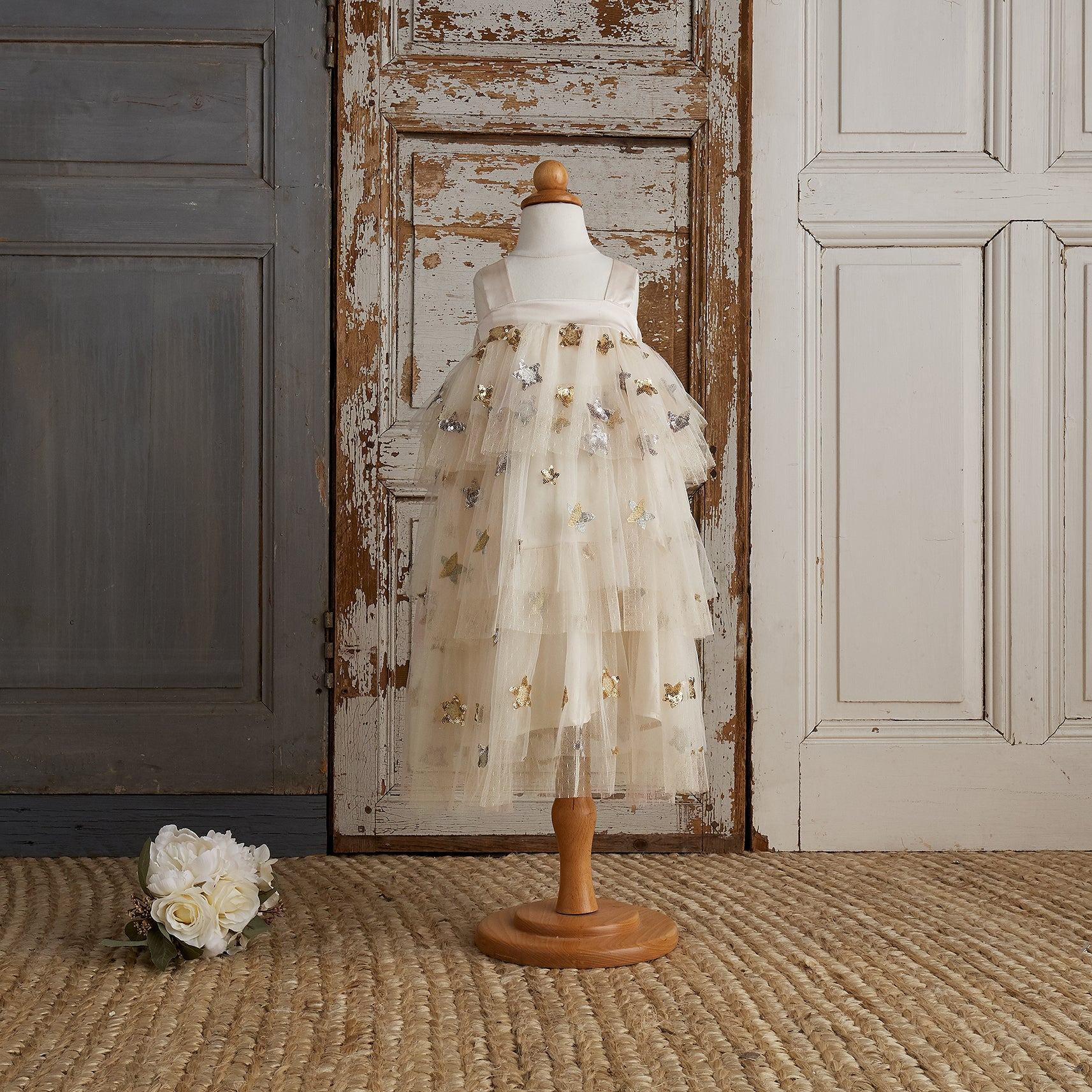Little Princess Dress - Pearl