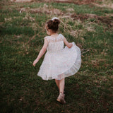 Confetti Dress (Girls) - Ivory