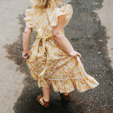 Flutter Dress - Yellow Bouquet (Limited Edition)