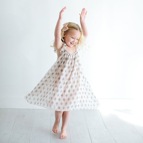 I Heart Ikat! Dress (Final Sale) (Size 12/18m Only)
