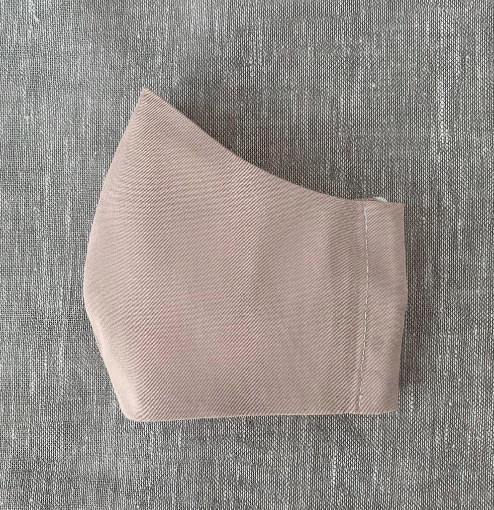 *In Stock* Cloth Masks (Child) - Pink Poplin