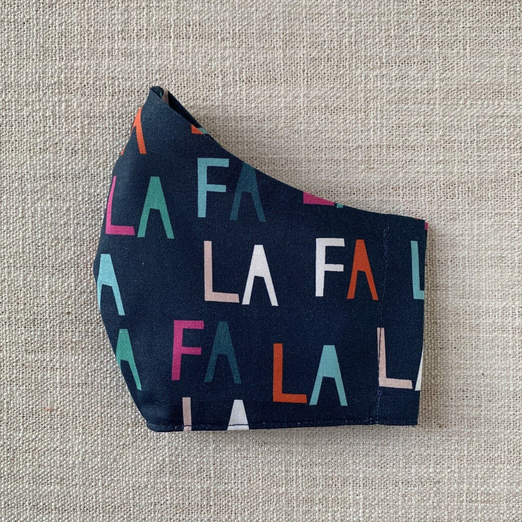 *In Stock* Cloth Masks (Adult & Child) - Fa La La