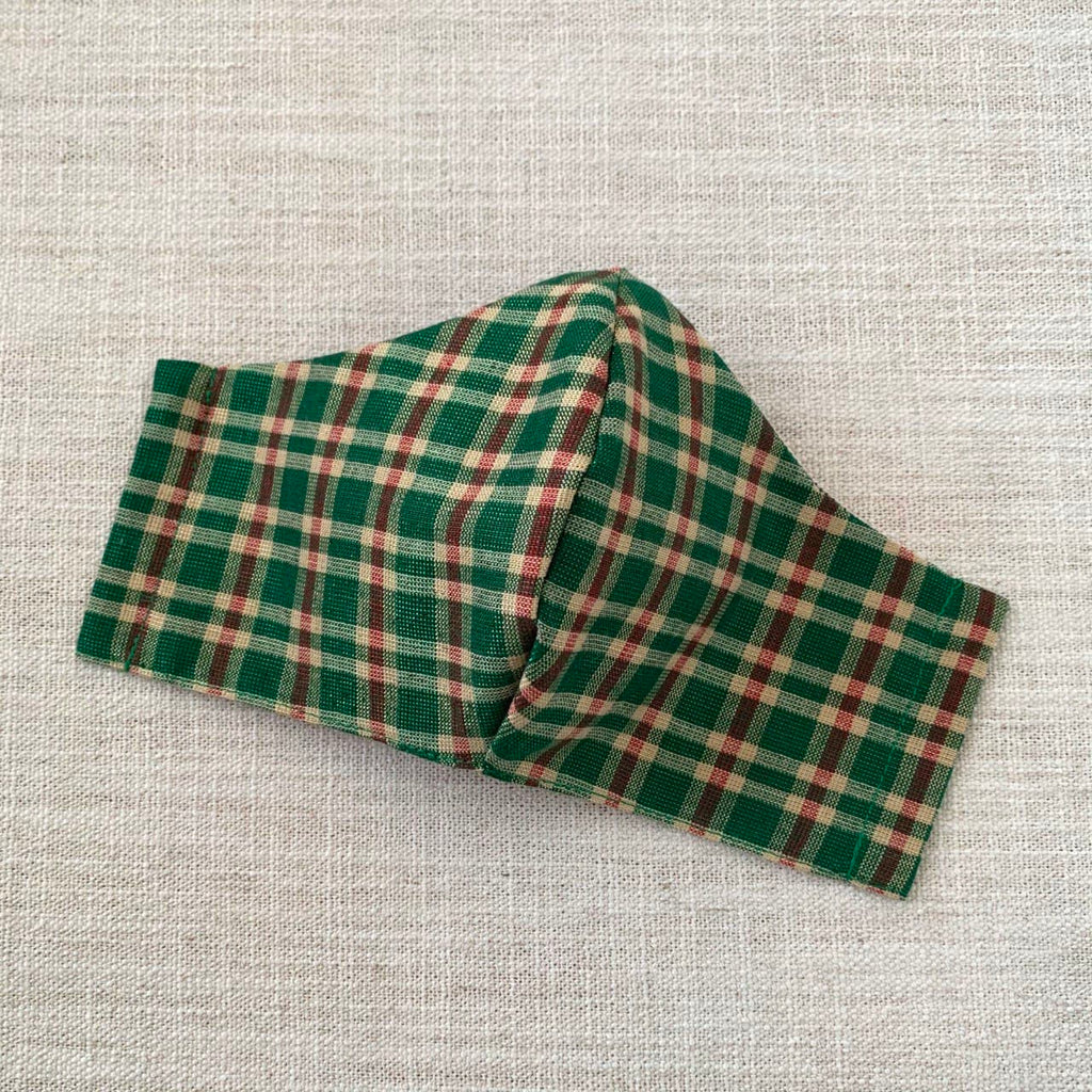 *In Stock* Cloth Masks (Adult & Child) - Metallic Plaid