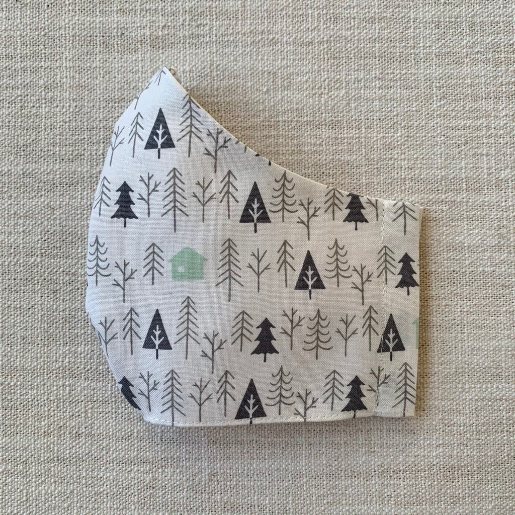 *In Stock* Cloth Masks (Child) - Snowscape