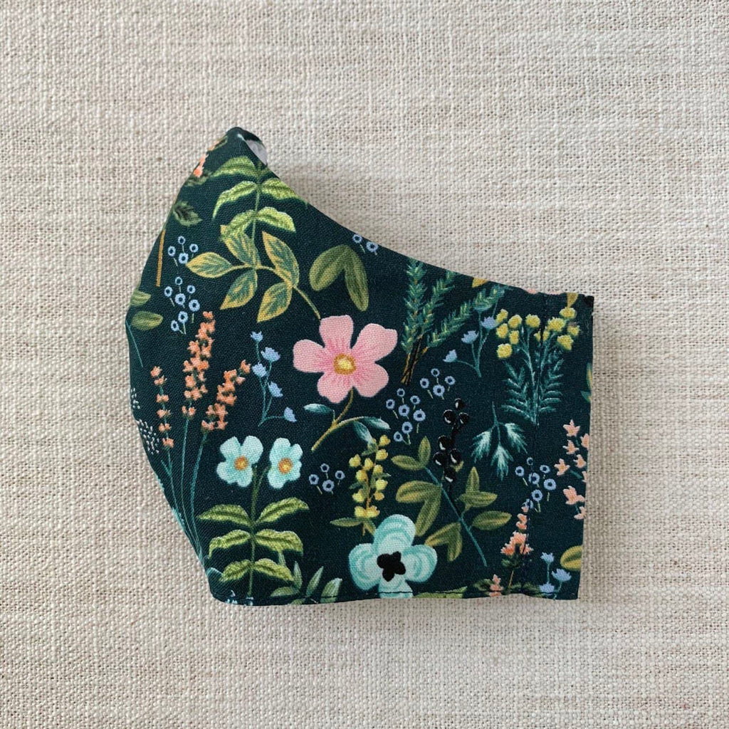 *In Stock* Cloth Masks (Adult & Child) - Arboretum Green
