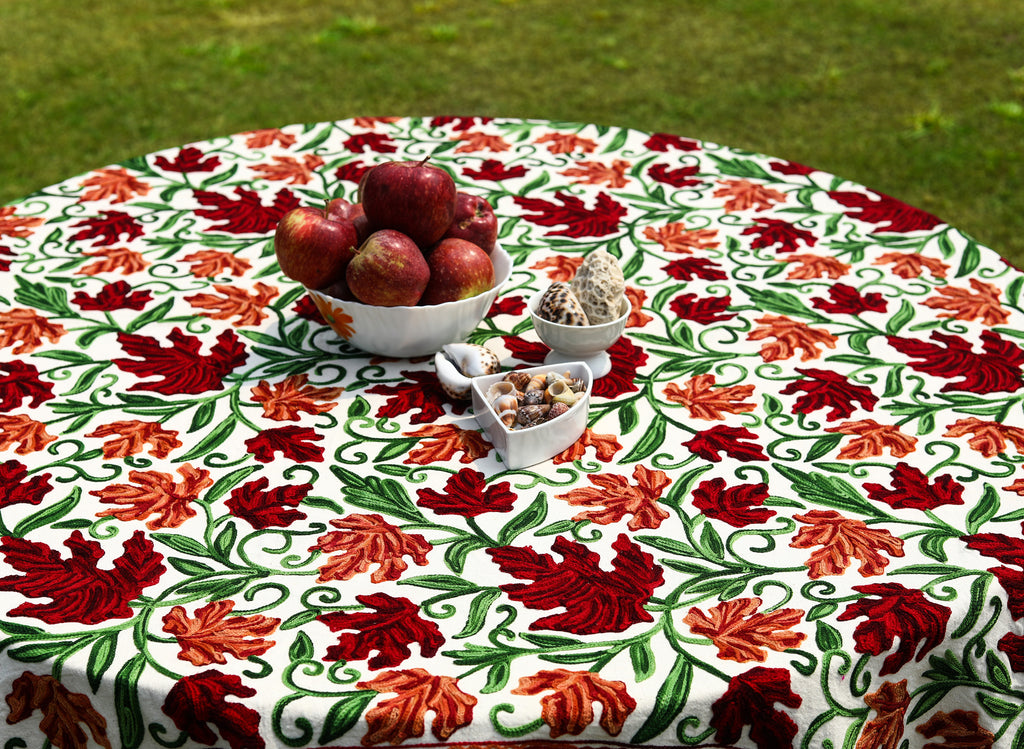 Round – Shrimp Sherbet Tablecloth