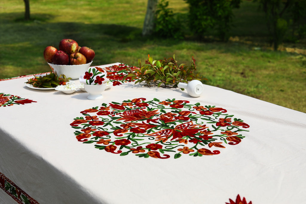 Rectangle Tablecloth – Orange Popsicle