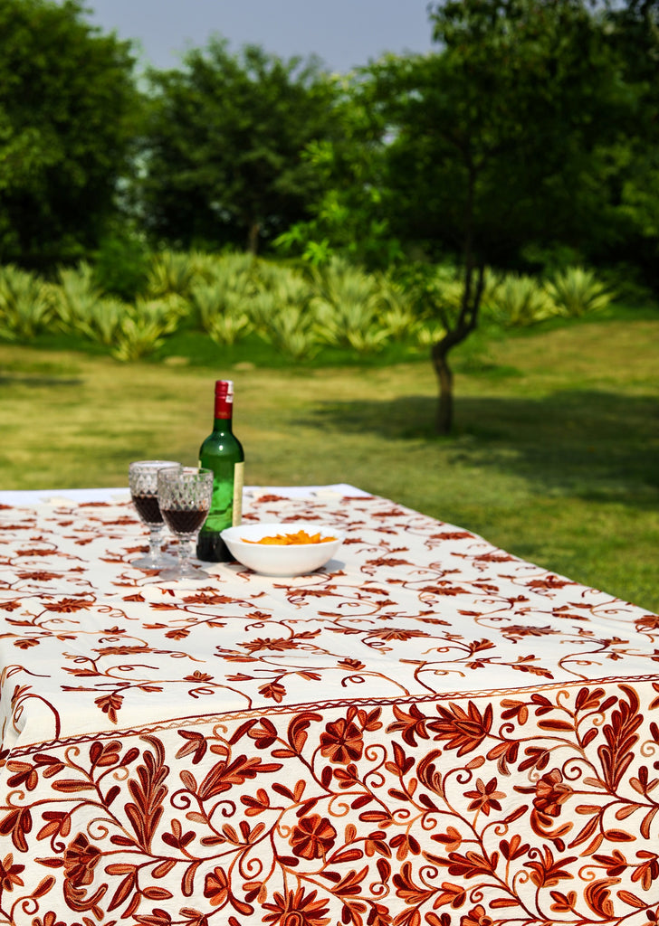 Round - Rosemary Rolls Tablecloth