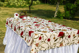 Oval - Wasabi Fritters Tablecloth