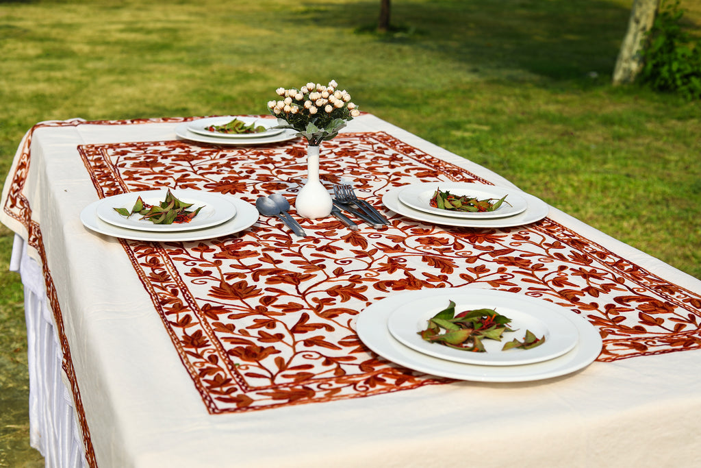 Oval - Mandarin Lollies Tablecloth