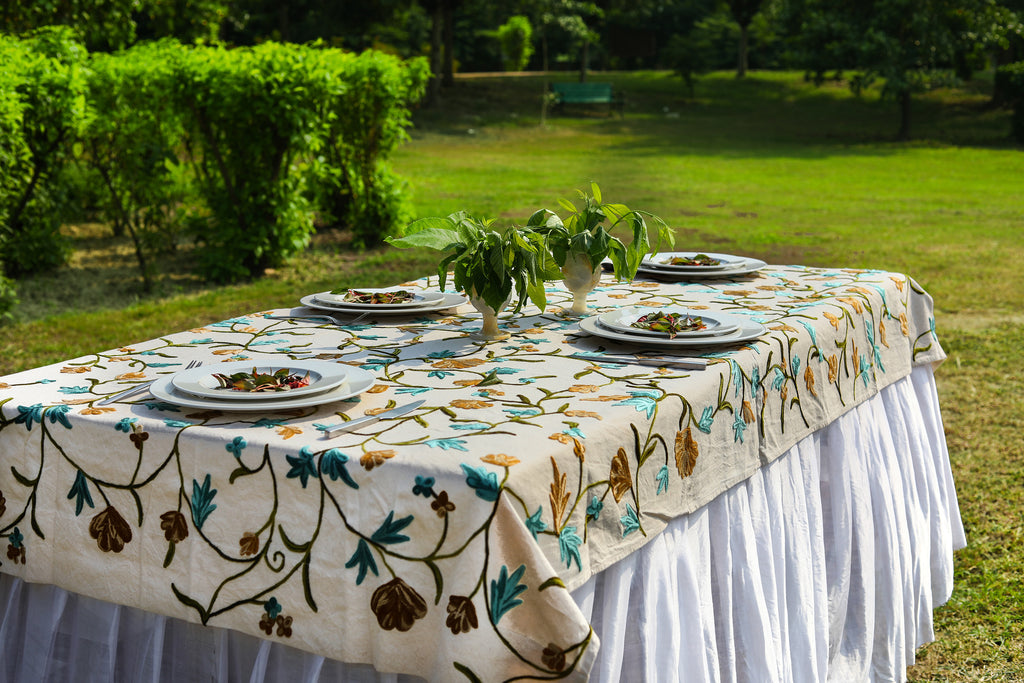 Square – Scallop Soup Tablecloth